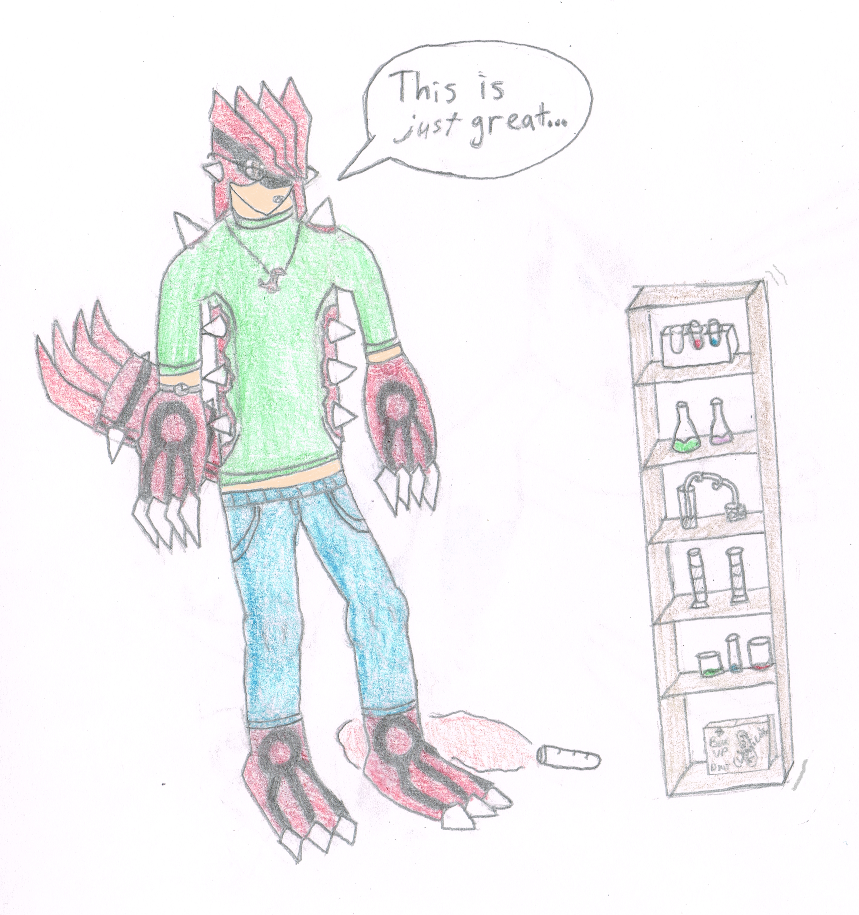 Dave As A Groudon Anthro By Druddy On DeviantArt