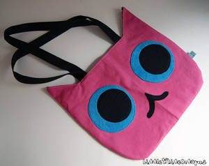 Cat Head Tote Bag