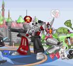 Disneyland commission.