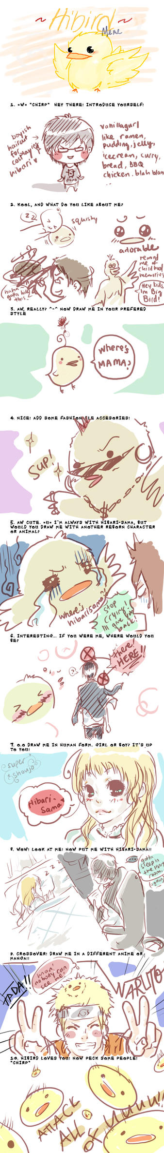 Hibird Meme by v4n1ll4gur1