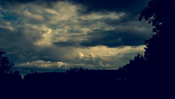 Rain coming? by Isa-ie