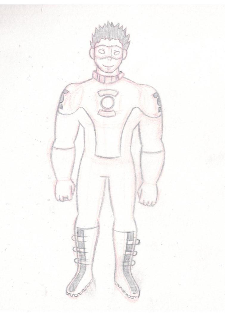 Kyle Rayner Sketch by ToaTepsak