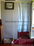 Easy DIY Bookcase Backside Prettification Tutorial by BabyWolverine