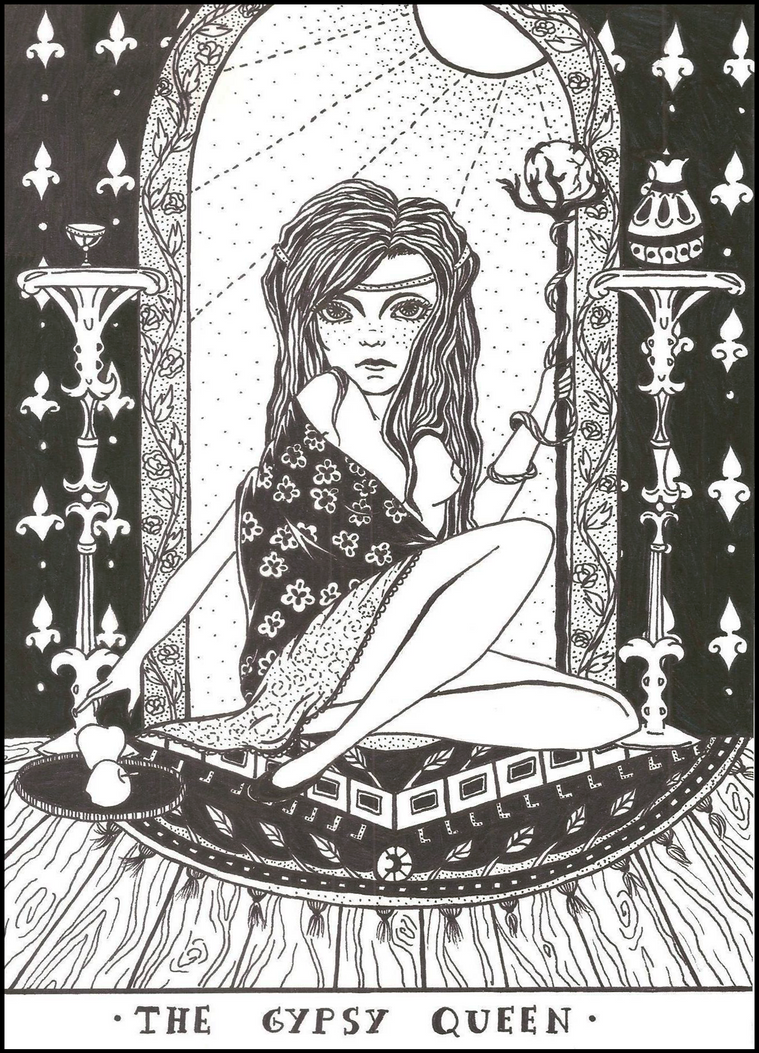 The Gypsy Queen by aDeadLullaby