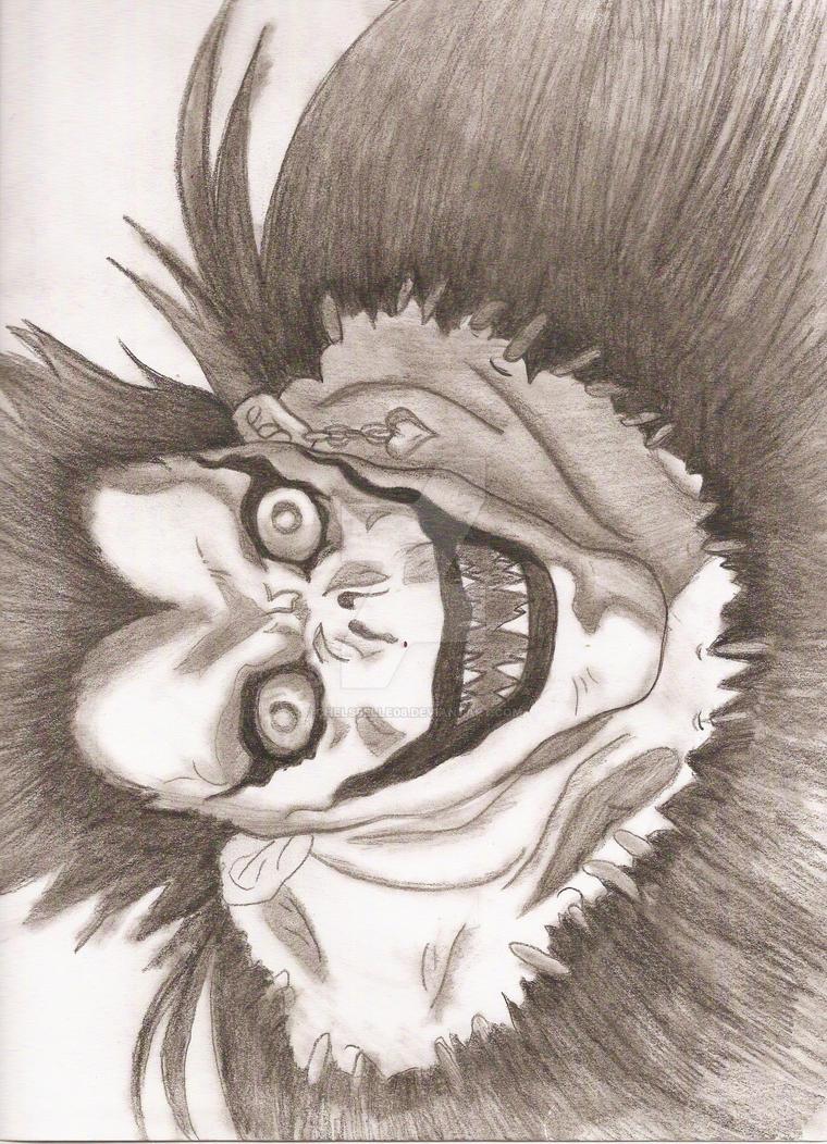 Ryuk- Death Note by chelsbelle08 on DeviantArt