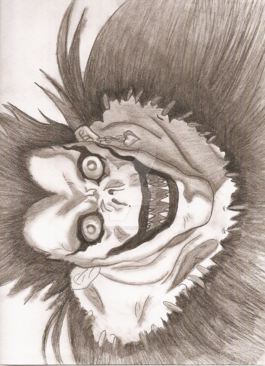 Ryuk- Death Note by chelsbelle08 on DeviantArt