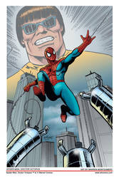 Spider-Man / Doctor Octopus colors by twm1962