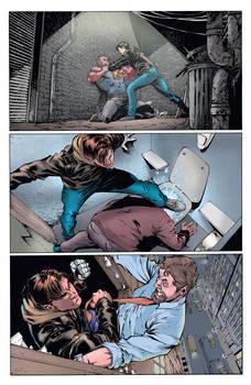 Ninjak #16, Page 3 colors