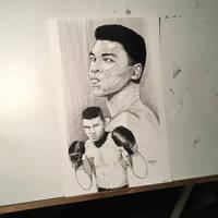Muhammad Ali Commission 11x17