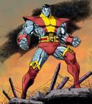 X-Men Colossus by Arthur Adams