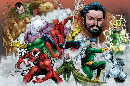 Spider-Man and his Rogues Gallery