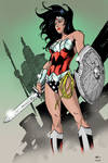 Wonder Woman by Oliver Nome