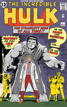 The Incredible Hulk #1 Cover Recreation