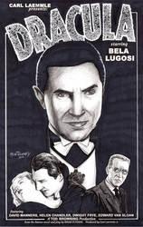 Bela Lugosi Dracula 11x17
