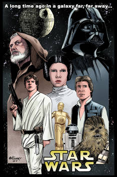 Star Wars: A New Hope colors