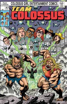 Team Colossus #3 CVR, Luis Rivera