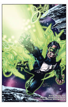 Green Lantern, Kyle Rayner - Philip Tan