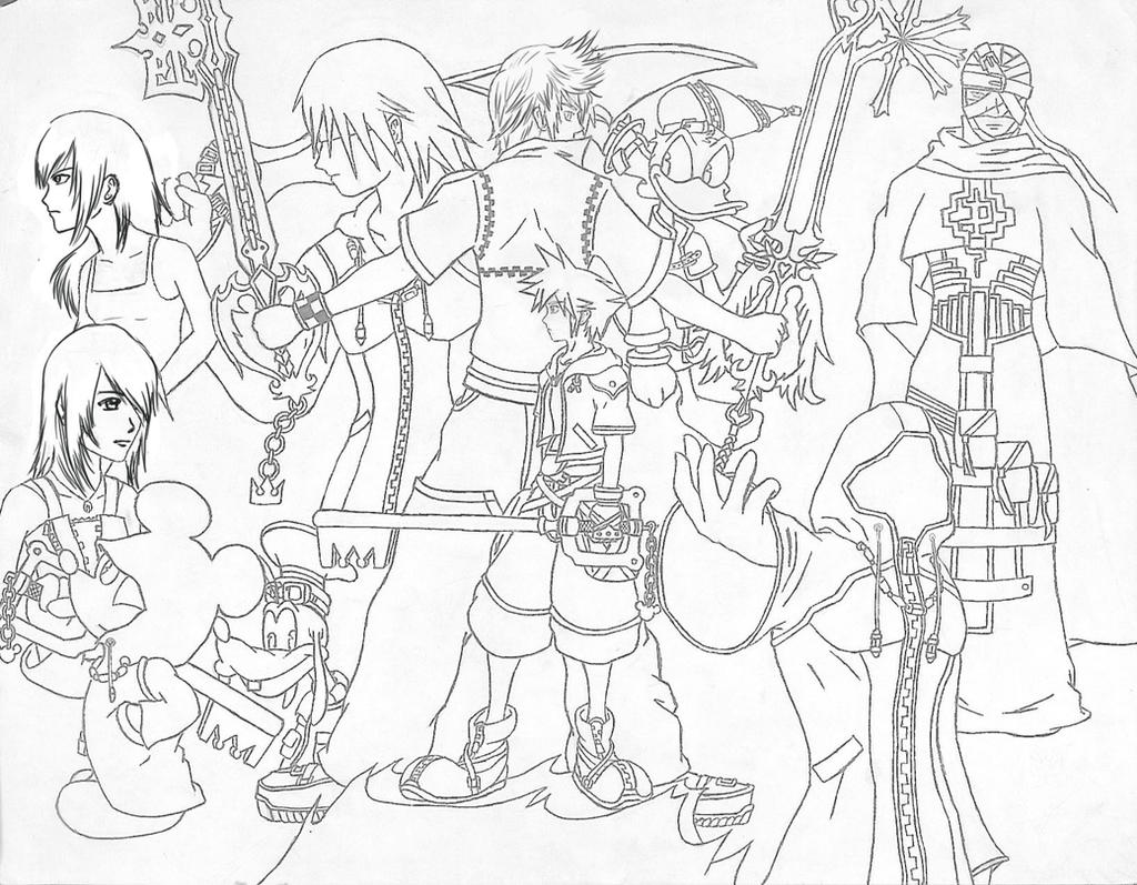 Kingdom Hearts 2 by Gabzx18x on DeviantArt