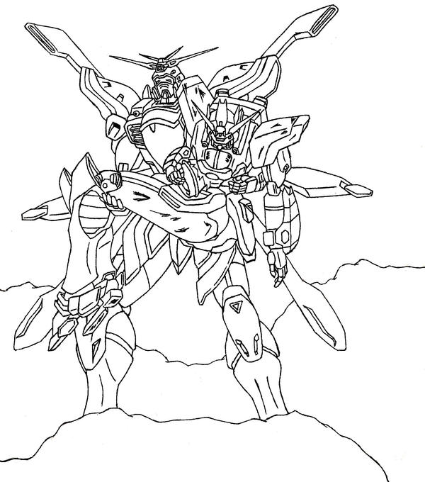 g gundam coloring pages - photo #1