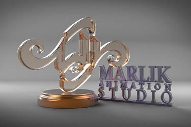 Marlik Studio 3d Logo