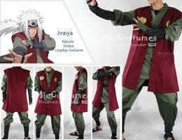 Naruto Jiraiya Cosplay Costume by cosplayblog