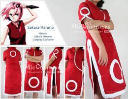 Naruto Sakura Haruno Costume by cosplayblog