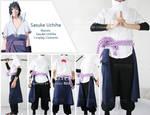 Naruto Sasuke Cosplay Costume
