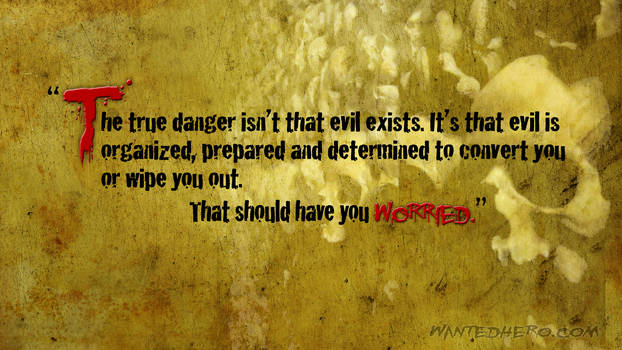 The Truth about Evil Wallpaper