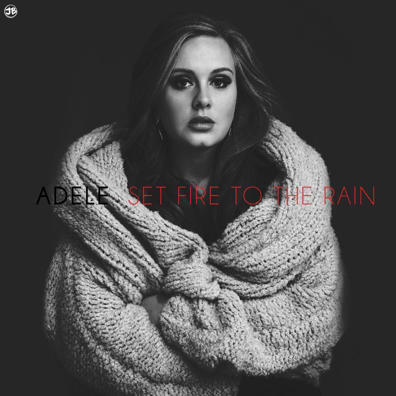 Adele Set Fire to the Rain Free midi download