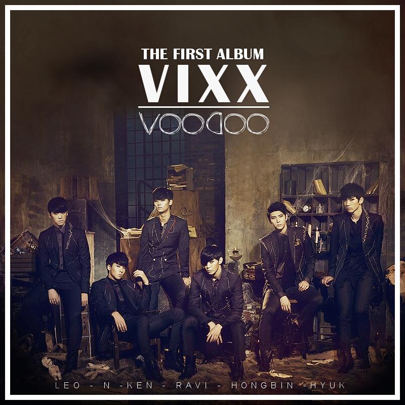 Vixx - Voodoo by J-BeomVixx Voodoo Album Cover