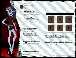Maura Monster High Oc by wearetheakatsuki