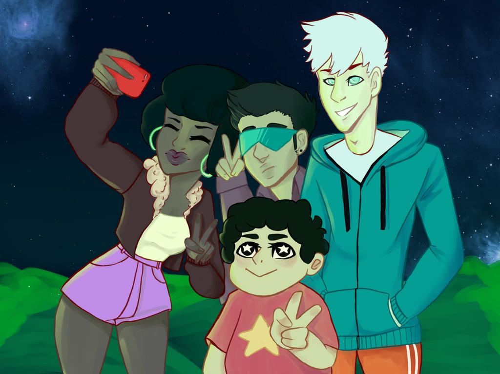 Steven and the Cool kids by wearetheakatsuki