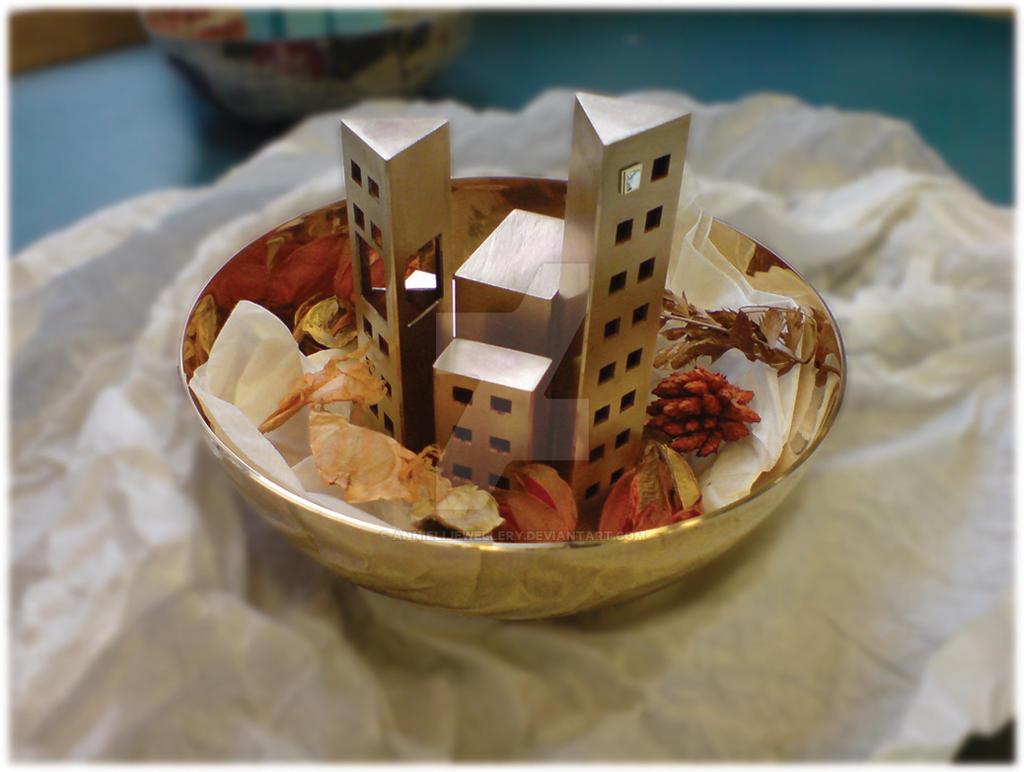 City Potpourri Bowl by annielijewellery
