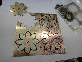 Kirie Ring Sublimation and Laser Cutting/Marking