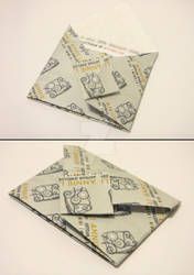 Origami Envelope with Message