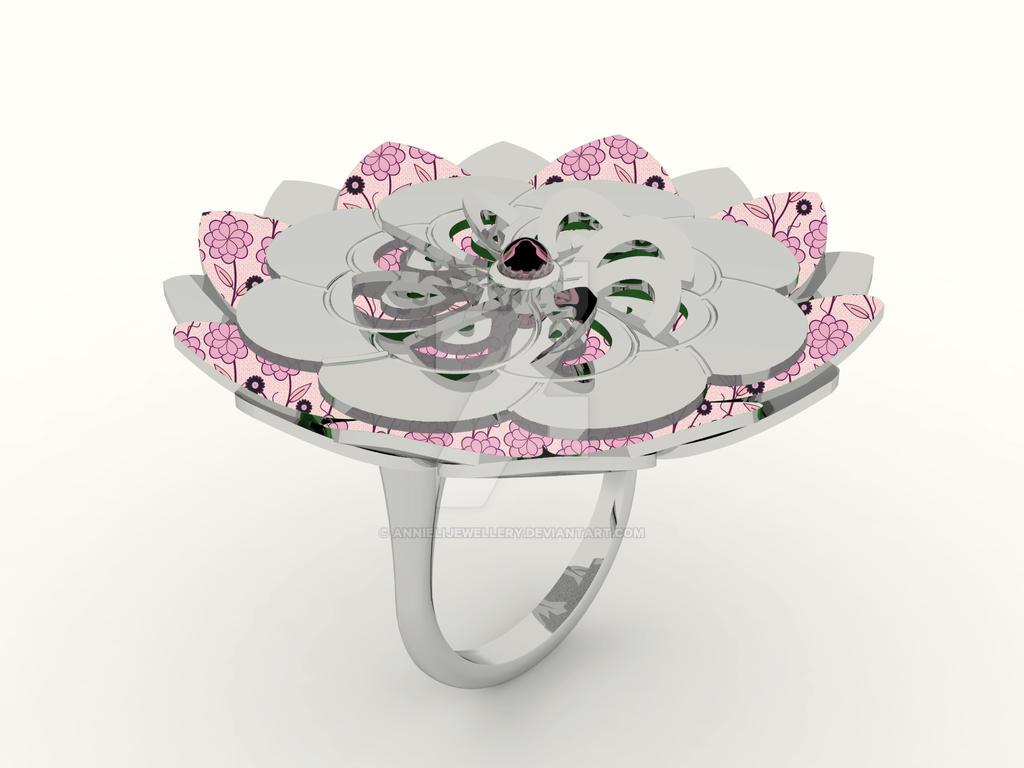 Kirie Ring: Dahlia by annielijewellery