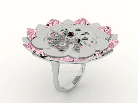 Kirie Ring: Dahlia