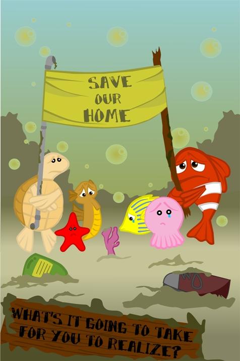 Save Our Ocean by CatTumpahCommunity on DeviantArt