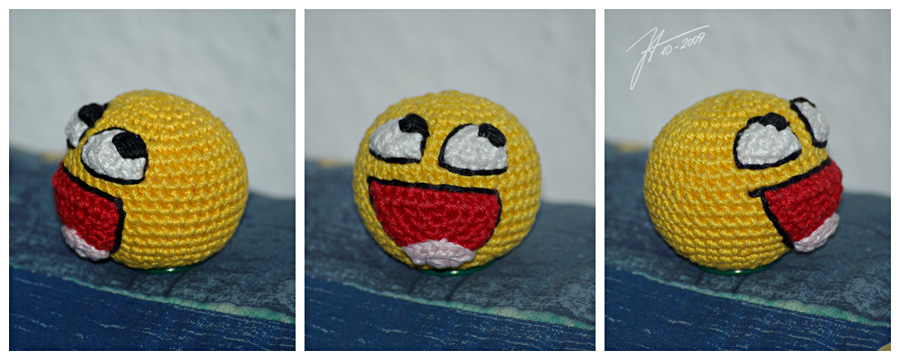 The Crocheted: imhappyplz by janey-in-a-bottle