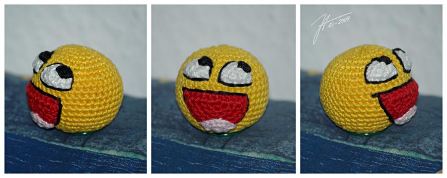 The Crocheted: imhappyplz by janey-in-a-bottle