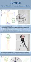 Tutorial: Wire Skeleton For Amigurumi Dolls