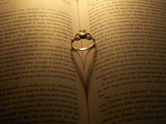 Claddagh Ring and Heart Shadow by romanticide7