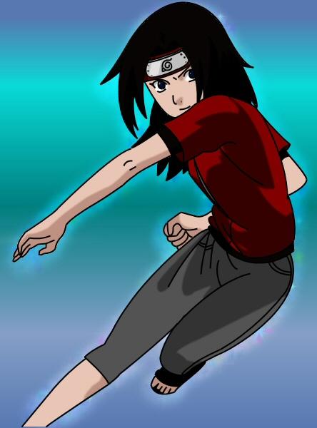 Naruto OC - Kagura Kitsune by Desy03 on deviantART