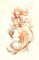 sirene by Cerisedolls
