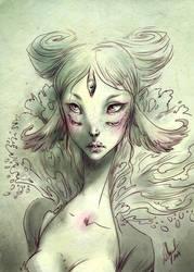 Beautiful monster by Cerisedolls