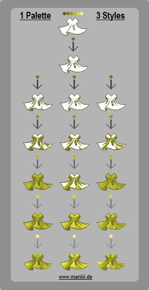 Shading styles