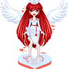 Red Angel by mariiiis-dolls