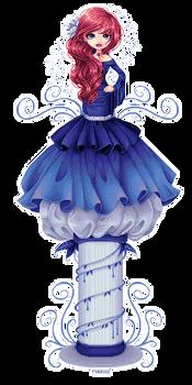 Blue dress 02