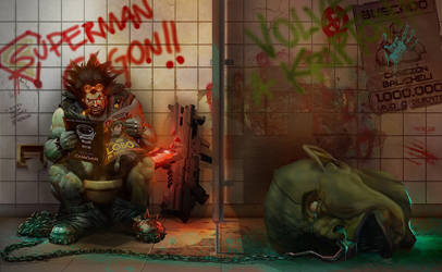 Lobo the last and only Czarnian by HerCar