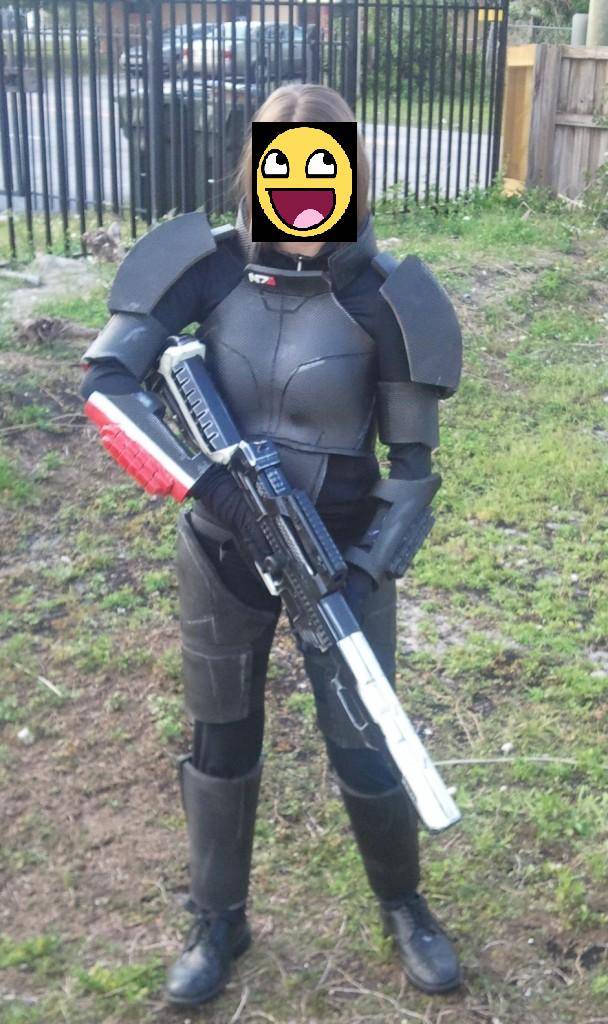 Commander Shepard WIP 90% by Kolin-Roberts